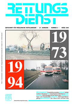 RETTUNGSDIENST 03/1994