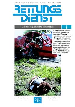 RETTUNGSDIENST 04/1997