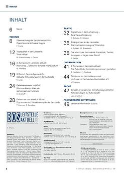 BOS LEITSTELLE AKTUELL 3/2016 - Telefon-Soforthilfe