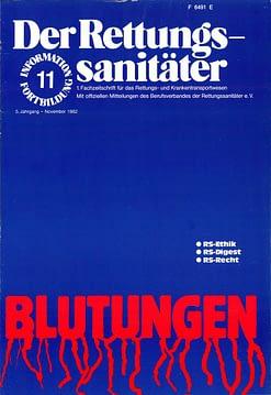 Der Rettungssanitäter 11/1982