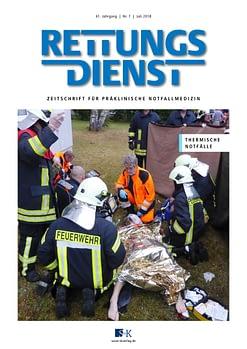 Rettungsdienst 7/2018 - Thermische Notfälle