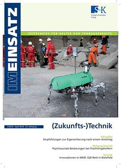 IM EINSATZ 02/2016 - Datenbrillen für den Katastrophenschutzeinsatz?