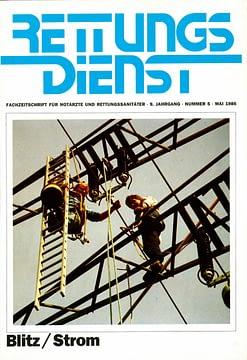 RETTUNGSDIENST 05/1986