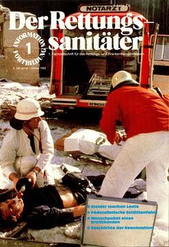 Der Rettungssanitäter 01/1982