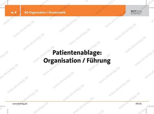 Lernkarte zur Patientenablage