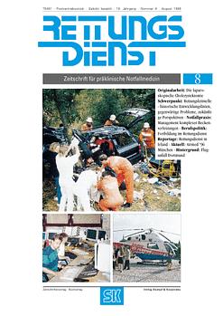 RETTUNGSDIENST 08/1996