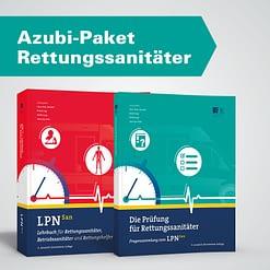 Azubi-Paket Rettungssanitäter - Lehrbuch und Prüfungsfragen für Rettungssanitäter