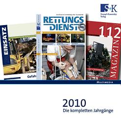 Jahres-CD 2010 - RETTUNGSDIENST, IM EINSATZ, 112 MAGAZIN